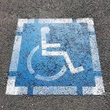 handikappat symbol Arkivbild