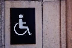 handikappat tecken Royaltyfri Bild