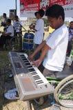 Handikapplekmusik Fotografering för Bildbyråer