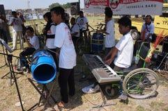 Handikapplekmusik Royaltyfri Foto