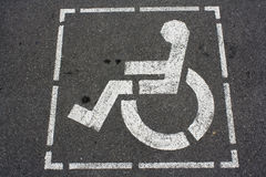 Handikapzeichen Stockbilder