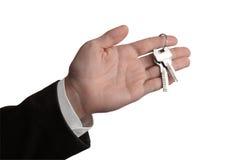Handing the keys over Stock Images