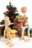 Handing out of presents Stock Photography