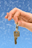 Handing over the key 1 Stock Photo