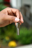 Handing Over the Keys Stock Images