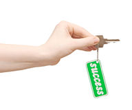 Keys to success Royalty Free Stock Photos