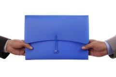 Handing Over Paperwork Royalty Free Stock Photo