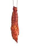 Handing sausage Royalty Free Stock Image