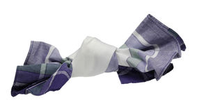 Handkerchief. Not to forget anything, some people make a knot in the handkerchief Royalty Free Stock Photography
