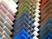 Handkerchief. Stack of colorful handkerchief are new collection Royalty Free Stock Photo