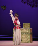 "Handkerchief dance-Kunqu Opera ""the West Chamber"" Stock Photo"