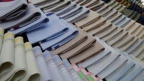 Handkerchief line background Stock Photos