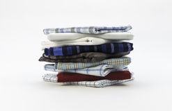 Handkerchiefs for men on a white background Stock Image