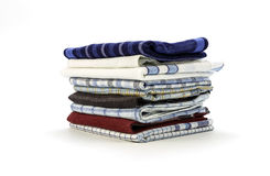 Handkerchiefs for men on a white background Royalty Free Stock Images