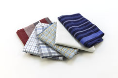 Handkerchiefs for men on a white background Stock Photo