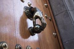 Handknackare inre trä för dörr Royaltyfria Bilder