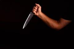 handknivman s Arkivbild