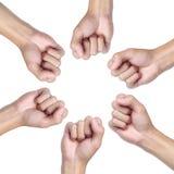 Handkreis Stockbilder