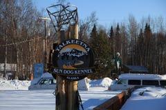 Handla fläcken, Alaska royaltyfria bilder