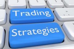 Handlarski strategii pojęcie Zdjęcie Stock