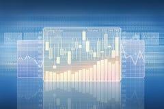 Handlarski wskaźnik Obrazy Stock