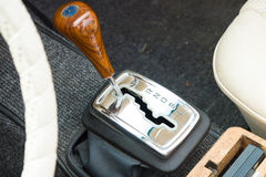 The handle automatic transmission Mercedes-Benz W113 Royalty Free Stock Photography