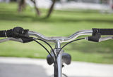 Handle bicycle Royalty Free Stock Photography