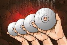 Handle CD Stock Photo