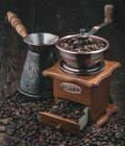 Handle coffee grinder Royalty Free Stock Photos
