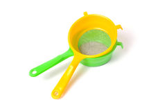 Handle colander Royalty Free Stock Photos
