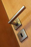 Handle door Royalty Free Stock Photo
