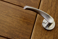Handle door close up Royalty Free Stock Photography