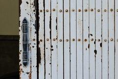Handle of door. Stock Photos