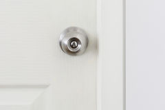 A handle on a door Royalty Free Stock Images