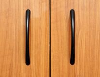 Handle on furniture Royalty Free Stock Photography