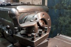 Handle of grinder Stock Photo