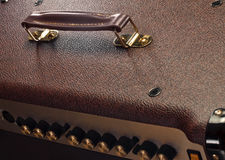 Handle of guitar amp Stock Photos