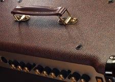 Handle of guitar amp Stock Photos
