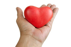 Handle with heart care Royalty Free Stock Image