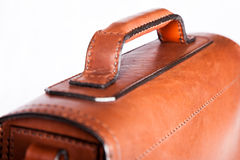 Handle for holding a briefcase Stock Images