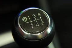 Handle a manual transmission royalty free illustration