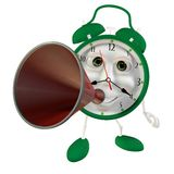 Handle megaphone Royalty Free Stock Photography