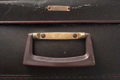 Handle on an old suitcase Royalty Free Stock Images