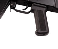 Handle and trigger automatic weapons Stock Image