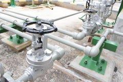 Handle valve Royalty Free Stock Image