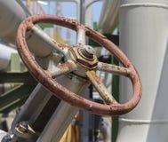 Handle valve Stock Photo