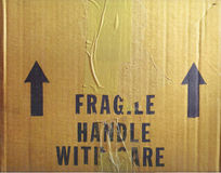 Free Handle With Care Stock Photography - 61052