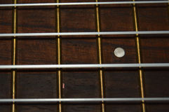Handle wooden guitar Stock Images