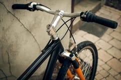 Handlebar горного велосипеда Стоковая Фотография RF