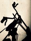 Handlebar тяпки Стоковая Фотография RF